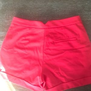 H&M Shorts - H&M Dressy Shorts Deep Coral almost new condition